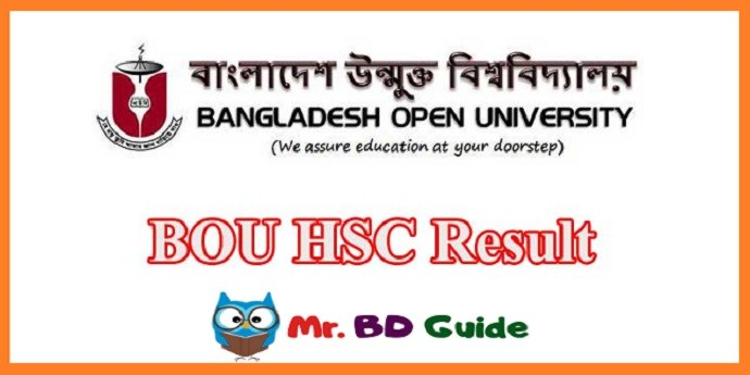 BOU HSC Result Featured Image - Mr. BD Guide