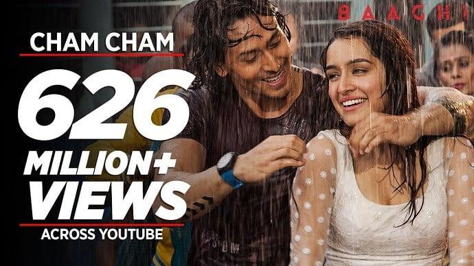 Cham Cham Hindi Song Lyrics in English - Mr. BD Guide
