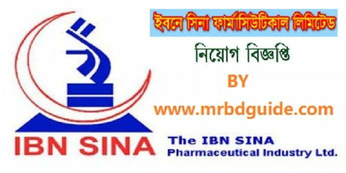 IBN SINA Pharmaceutical Job Circular Feature Image - mrbdguide.com