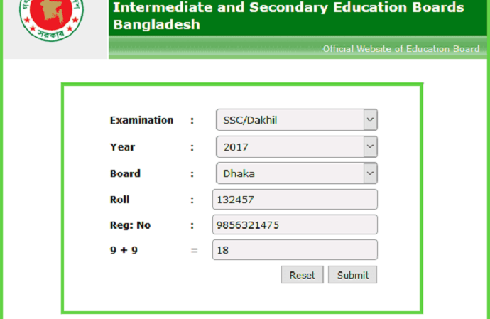 SSC Result All Board