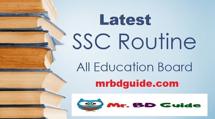 SSC Routine Featured Image