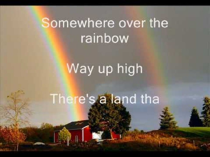 Somewhere Over The Rainbow Song Lyrics Download - Mr. BD Guide