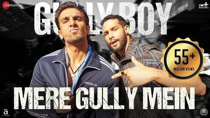 MERE GULLY MEIN LYRICS in English - Ranveer Singh, DIVINE, Naezy Lyrics