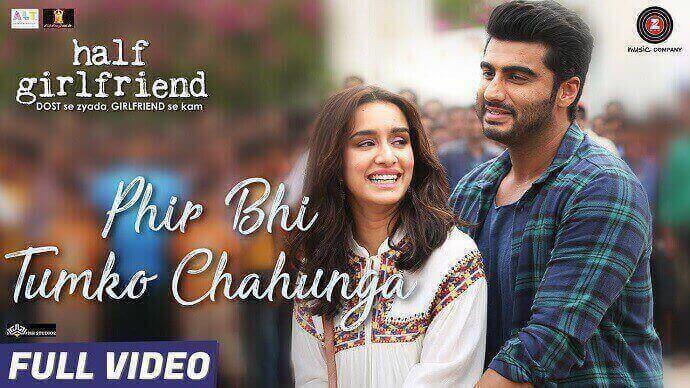Phir Bhi Tumko Chaahunga Hindi Song Lyrics in English - Arijit Singh, Shashaa Tirupati