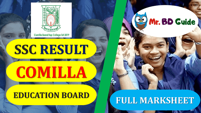 SSC Result Comilla Board with Full Marksheet Featured Image