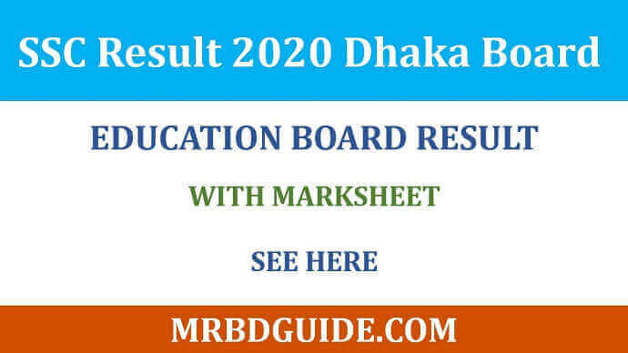 SSC Result Dhaka Board with Full Marksheet Featured Image - Mr BD Guide
