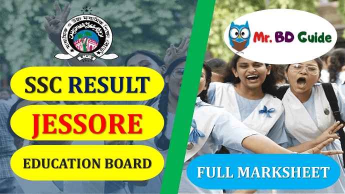 SSC Result Jessore Board with Full Marksheet Featured Image
