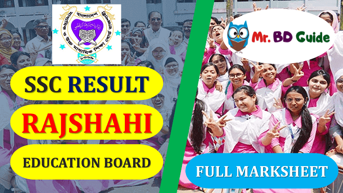 SSC Result Rajshahi Board with Full Marksheet Featured Image