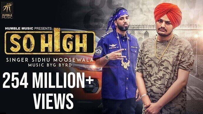 So High Punjabi Song Lyrics in english - Sidhu Moose Wala Lyrics