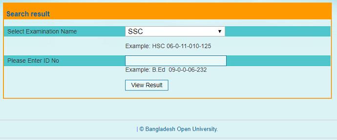 BOU SSC Result First Method - Mr. BD Guide