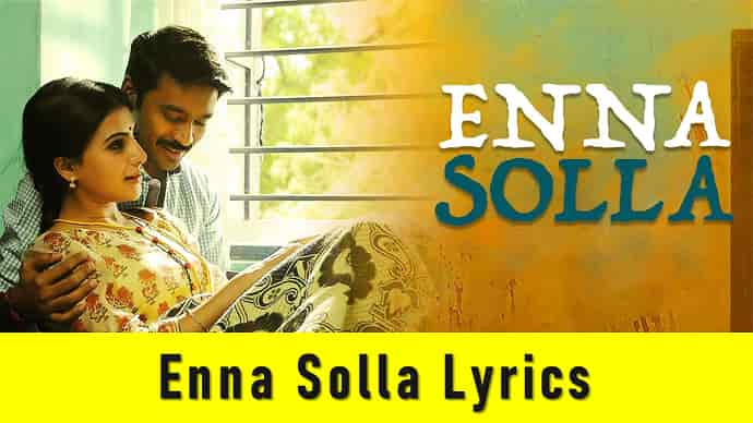 Enna Solla Lyrics Featured Image - Mr. BD Guide