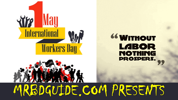 International Workers Day Best Wishes - Mr. BD Guide