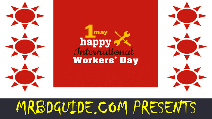 International Workers Day Poster 01 - Mr. BD Guide