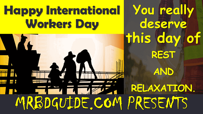 International Workers Day Slogan - Mr. BD Guide