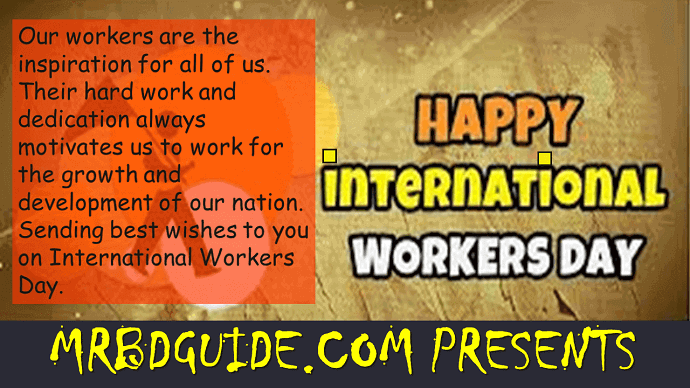 International Workers Day Wishes - Mr. BD Guide