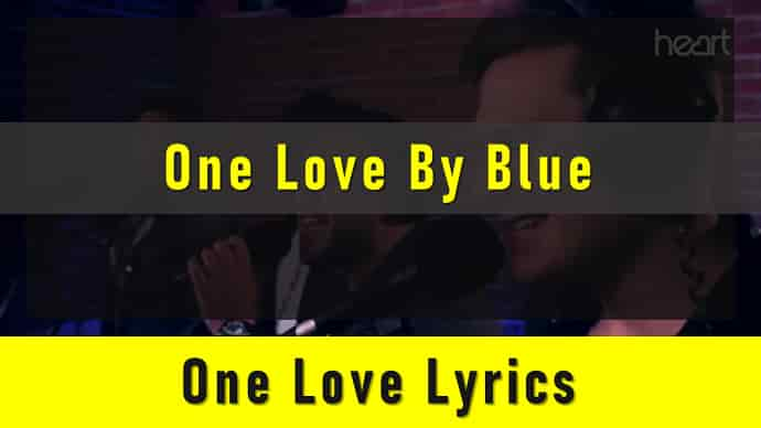 One Love Lyrics Featured Image - Mr. BD Guide