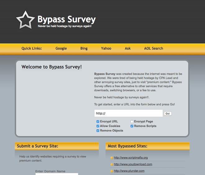 SurveyByPass.com: Best For Bypass Online Surveys