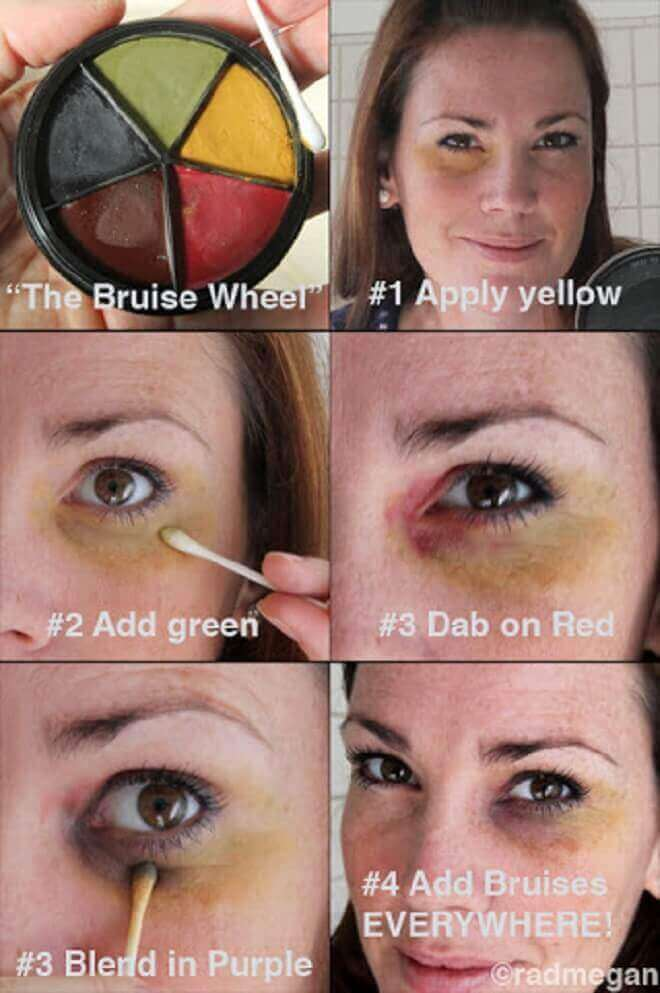 How to Give Yourself a Black Eye - Definite Guide 03