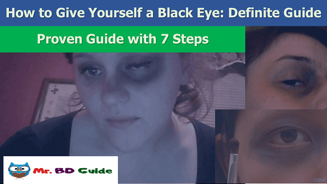 How to Give Yourself a Black Eye Featured Image by Mr. BD Guide