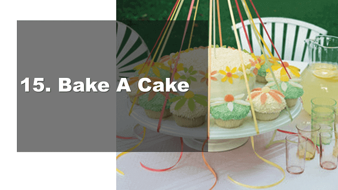 Bake A Cake - How to Celebrate May Day - Mr. BD Guide