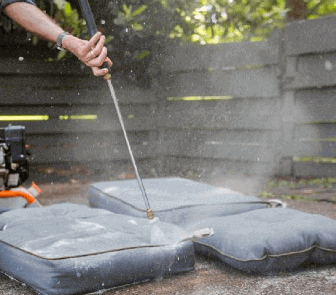 Want to know how to clean outdoor cushions? We will discuss that in multiple ways in a bit.
