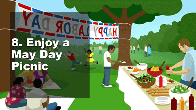 Enjoy a May Day Picnic - How to Celebrate May Day - Mr. BD Guide