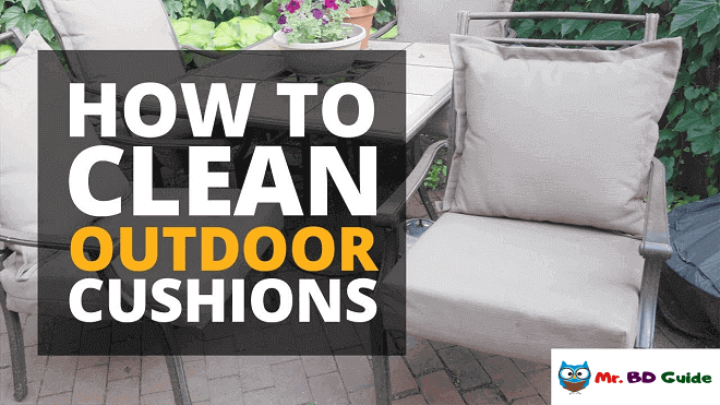 How to Clean Outdoor Cushions - Featured Image