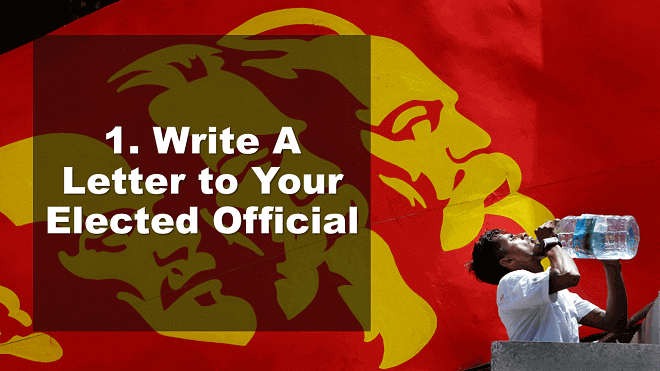 Write A Letter to Your Elected Official - How to Celebrate May Day - Mr. BD Guide