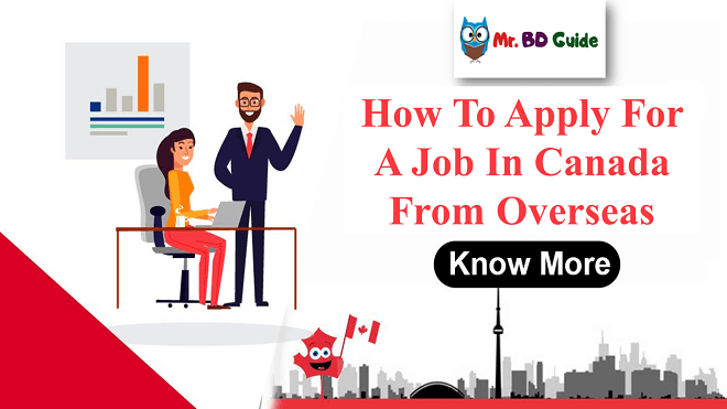 How to Apply For a Job in Canada From Overseas - Featured Image