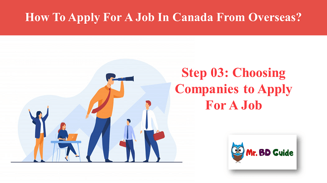 Step 03: Choosing Companies to Apply For A Job