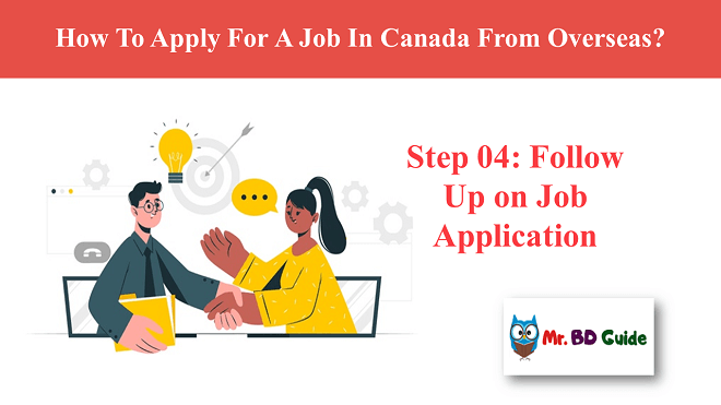 Step 04 - Follow Up on Job Application